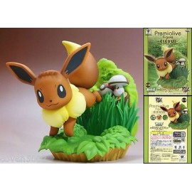 banprestp POKEMON figurine evoli EEVEE EIEVUI POKEMON Premialive Figure Doll