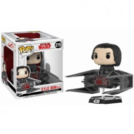 Funko Pop! Star Wars - Kylo Ren on TIE Fighter Deluxe Vinyl Figure 4-inch Scale