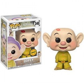 CHASE Funko POP! BLANCHE NEIGE Disney Snow White - Dopey Vinyl Figure 10cm