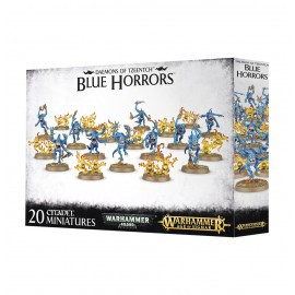 WARHAMMER 40 000 age of sigmar Blue Horrors et Brimstone Horrors