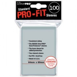 ultra pro 100 Protège Cartes PRO FIT Protectors PROTECTION CARTE POKEMON MAGIC