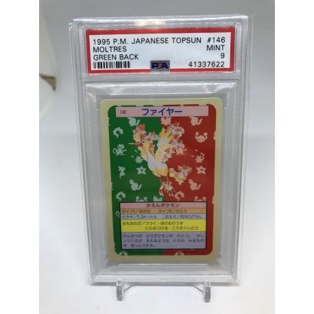 POKEMON 1995 japanase PSA9 topsun vaporeon green back aquali