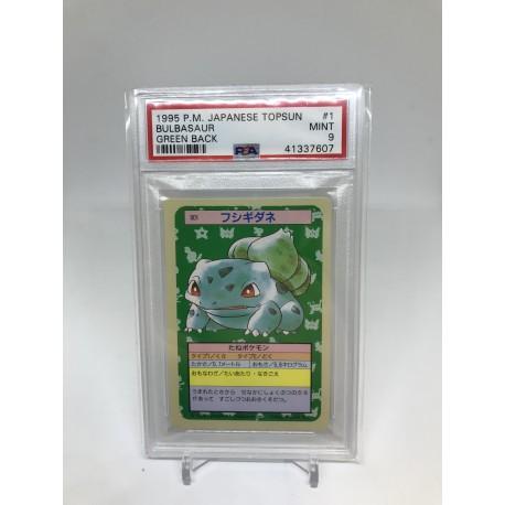 POKEMON 1995 japanese PSA9 topsun wartortle green back carapuce