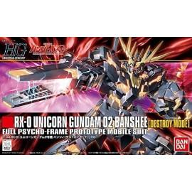 RG 1/144 RX-0[N] unicorn Gundam second unit banshee norn
