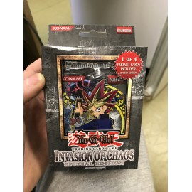 yu gi oh special edition invasion of chaos US NEUF booster
