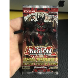 NEUF 1ere EDITION francais yu gi oh booster arsenal mysterieux 5 invasion colonie de chrome 2011