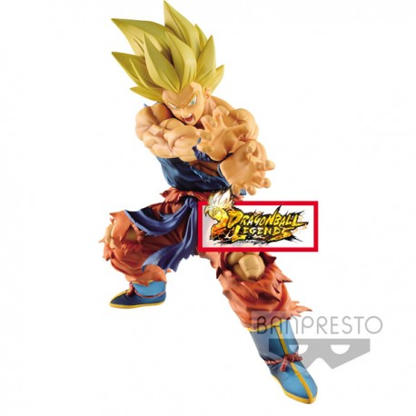 banpresto dragon ball z DBZ Dragon Ball Gt Super Saiyan 4 Son Goku X10 Kamehameha 19cm