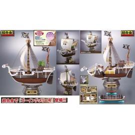 BATEAUX One Piece Going Merry Die Cast