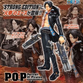 ONE PIECE P.O.P pop MEGAHOUSE Strong Edition ace