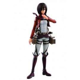 Attack On Titan Mikasa Ackerman Ichiban kuji L Prize Figure Banpresto