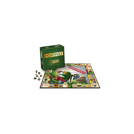 [ PRECO] The Legend of Zelda jeu de plateau Monopoly FRANCAIS