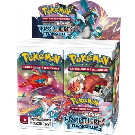 Boosters Boosters Pokémon NOIR ET BLANC FRONTIERES FRANCHIES en francais