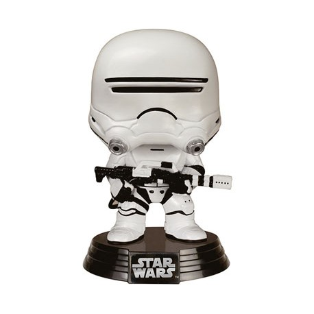 Star Wars épisode VII POP! Vinyl Bobble Head First Order Flametrooper 10 cm