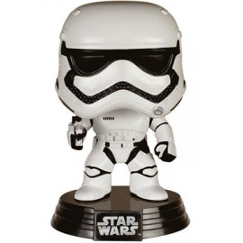 Star Wars épisode VII POP! Vinyl Bobble Head First Order Stormtrooper 10 cm
