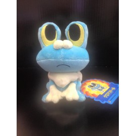 OFFICIEL POKEMON CENTER PELUCHE PLUSH GRENOUSSE