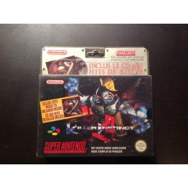 Super Nintendo blister rigide killer instinct jeux video retro gaming