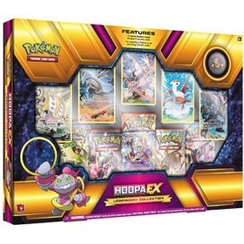 Pokemon Collector coffret hoopa EX version anglais boosters
