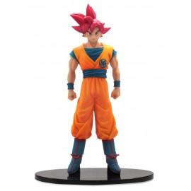 Dragon Ball Z bataille des dieux rouge cheveux Son Goku Goku Banpresto Chozousyu