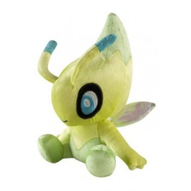 OFFICIEL POKEMON TOMY Pokemon peluche 20th Anniversary Celebi 20 cm