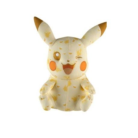 OFFICIEL POKEMON TOMY Pokemon peluche 20th Anniversary Special Pikachu 25 cm