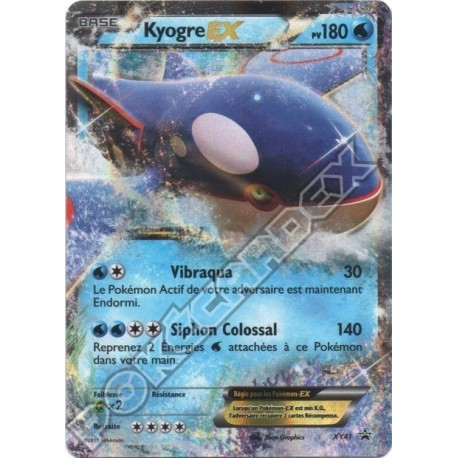 carte Pokemon AMPHINOBI EX XY20 PROMO no display no booster