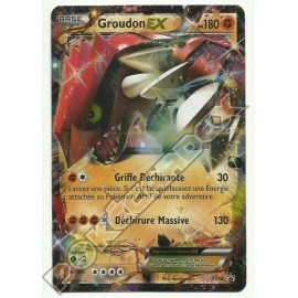 carte Pokemon GROUDON XY42 PROMO no display no booster