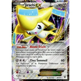 carte Pokemon JIRACHI EX 60/101explosion plasma no display no booster