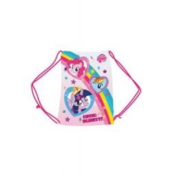 Mon petit poney sac en toile Rainbow 33 x 42 cm