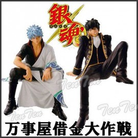 Banpresto Gintama Sakata Gintoki ET Hijikata Figures Break time