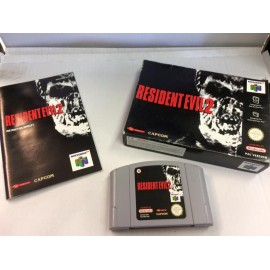 RESIDENT EVIL 2 sur Nintendo 64 jeux video retro gaming