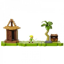 MINI FIGURINES SERIE WORLD OF NINTENDO ZELDA CABANE DELUXE PACK