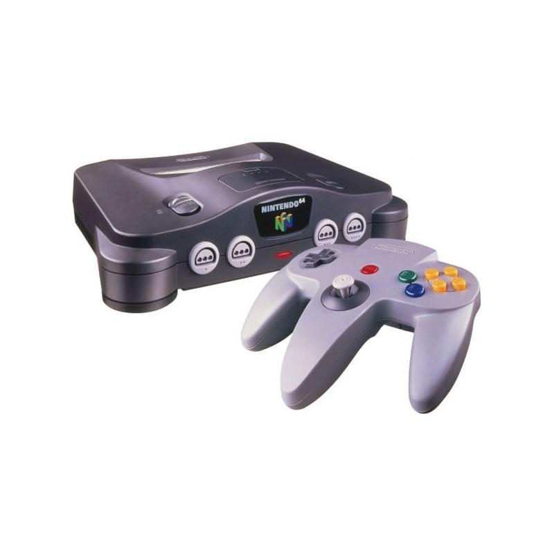 Console nintendo 64 complete n64 dream of figure - Super nintendo 64 console ...