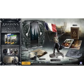 ULTRA RARE ubisoft Assassin's CREED Unity Notre Dame Edition PS4 FRANCAIS