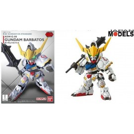 Gundam SD BARBATOS GUNDAM ASW-G-08 Ex Standard Bandai Model Kit