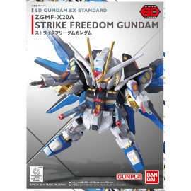 Gundam SD ZGMF-X20A STRIKE FREEDOM Ex Standard Bandai Model Kit