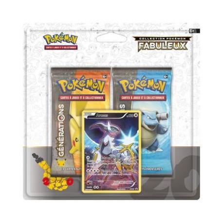 Produits Spéciaux Pokémon Collection Pokémon Fabuleux Manaphy Pack 20ème Anniversaire