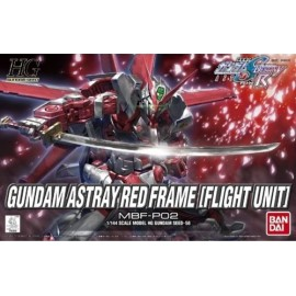 BANDAI HG GUNDAM ASTRAY RED FRAME FLIGHT UNIT Plastic Model Kit
