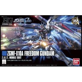 BANDAI HG GUNDAM GUNDAM ZGMF-X10A FREEDOM Plastic Model Kit