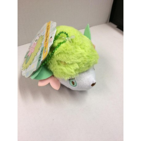 OFFICIEL POKEMON CENTER PELUCHE PLUSH PORTE CLE SHAYMIN