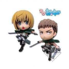 Attack on titan Ichiban kuji Armin & Jan CHIBI NEDOROID