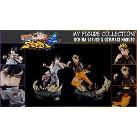 TSUME NARUTO SHIPPUDEN ULTIMATE NINJA STORM 4 RESIN Naruto Uzumaki Sasuke Uchiwa AS
