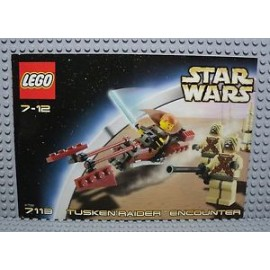 star wars LEGO 8093 notice / mode emploi