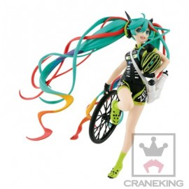 Banpresto Figurine Hatsune Miku Project Diva Hatsune Miku Racing GT Project SQ Version 18cm
