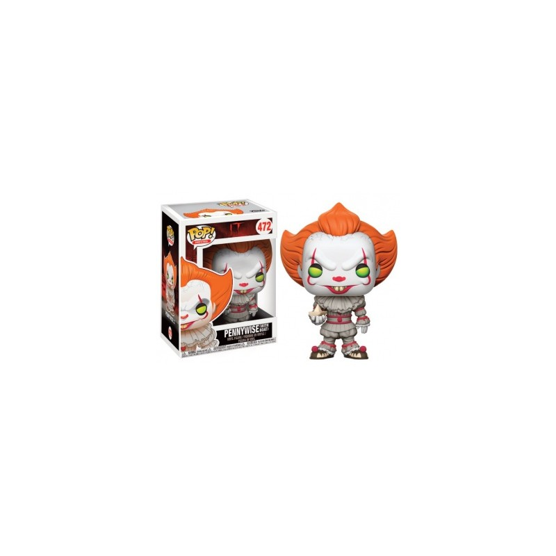 Funko Pop Vinyl Figurine Movies It Pennywise With Boat
