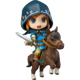 The Legend of Zelda Breath of the Wild figurine Nendoroid Link Deluxe Edition 10 cm