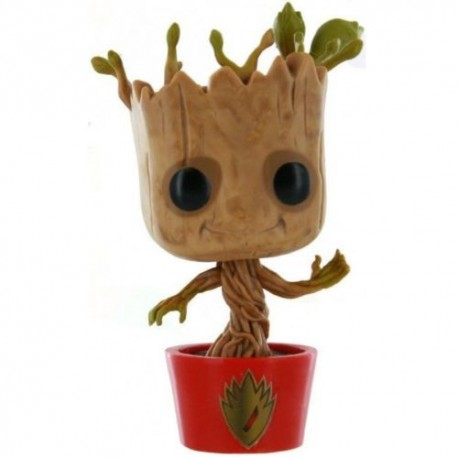 Les Gardiens de la Galaxie POP! Vinyl Bobble Head Dancing Groot 10 cm