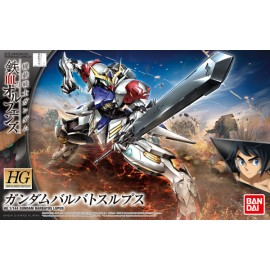 BANDAI GUNDAM HG 1/144 BARBATOS LUPUS Plastic Model Kit