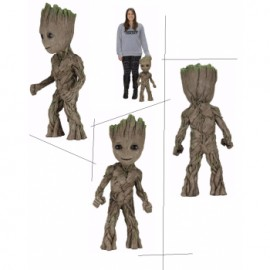 Funko POP! Marvel Guardians of the Galaxy 2 Young Groot with Shield Vinyl Figure 10cm
