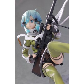 AQUAMARINE SAO Sword Art Online II statuette PVC 1/7 Sinon 22 cm