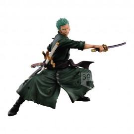 BANPRESTO One Piece figurine SCultures Big Zoukeio Roronoa Zoro Shining Color Ver. 13 cm